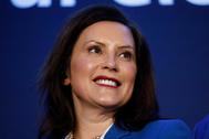 La gobernadora de Michigan, Gretchen Whitmer, en una imagen de archivo.