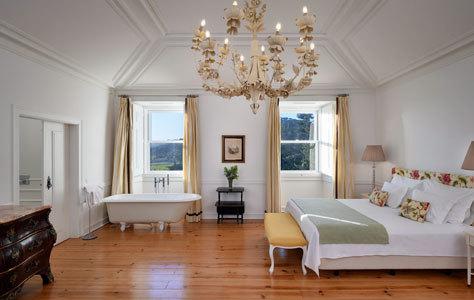 Una de las 21 habitaciones de Casa Pamela.