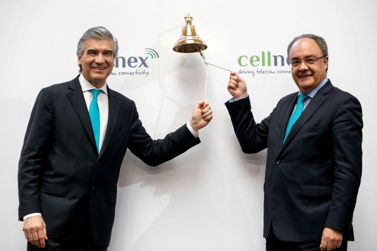 Día de la salida a Bolsa de Cellnex
