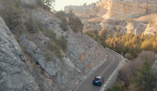 Las hoces del Alto Ebro y Rudrón se disfrutan en la N-623.