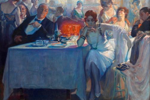 'Falenas', de Carlos Verger Fioretti (1872-1929), una de las obras de la exposición.