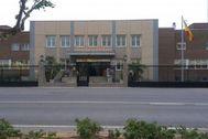 Residencia militar ubicada en el Grao de Castellón.