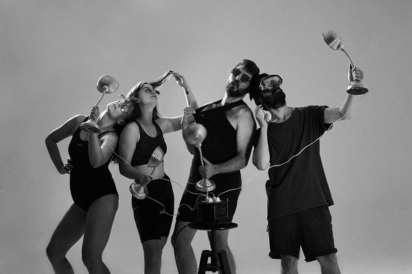 Lidia Guillem, Adrián Justel y Coral Ros en la obra de teatro alternativo 'Gérmen'
