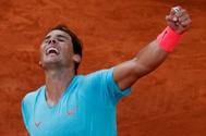 Nadal alza el vuelo y buscará ante Djokovic, que sufrió contra Tsitsipas, su decimotercer título