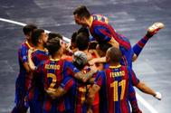 El Barça vence al Partido Comunista ruso en los penaltis y jugará la final de la Champions  contra El Pozo