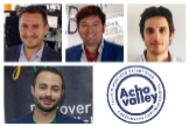 Los siete emprendedores integrantes de Achovalley