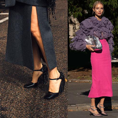 Ideas para triunfar con la falda tubo, una pieza hiperfemenina que este otoño se alarga