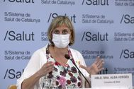La consejera de Salud, Alba Vergés.