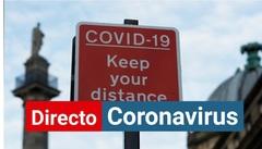 Cartel de advertencia del coronavirus en NewsCastle.