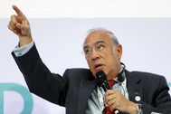 El secretario general de la OCDE, Angel Gurria.