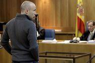 Gurutz Aguirresarobe Pagola, durante el juicio en la Audiencia Nacional por el asesinato de Joseba Pagazaurtundua.