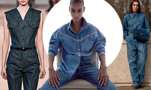 Salvatore Ferragamo, modelo de Zara con tachuelas e influencer vestida de vaquero con bolso de Chanel.