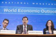 El 'número dos' del Departamento de Análisis del FMI, Gian Maria Milesi-Ferretti.