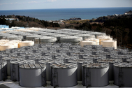 FILE PHOTO: Storage tanks for radioactive water are seen at tsunami-crippled lt;HIT gt;Fukushima lt;/HIT gt; Daiichi nuclear power plant in Okuma town, lt;HIT gt;Fukushima lt;/HIT gt; prefecture