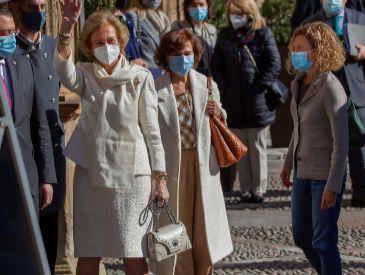 Zarzuela refrenda en Asturias el estatus de Doña Sofía y Felipe VI se reencuentra con Carlos Lesmes