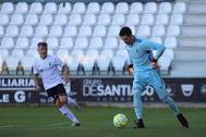 Lucas Cañizares, durante un partido reciente con el Castilla.