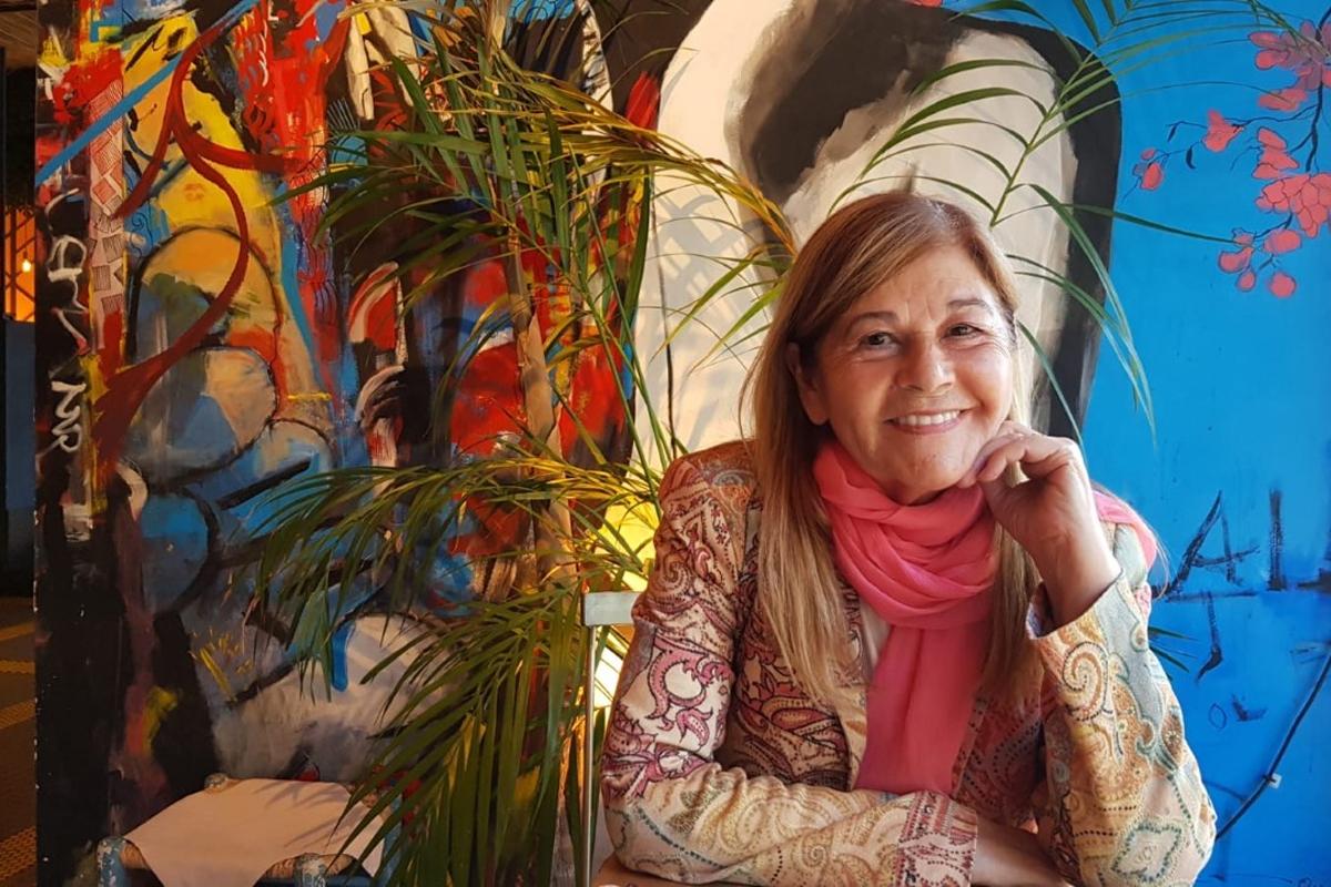 La escritora asturiana María Teresa Álvarez, autora de 'Juana de Castilla'.