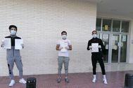 Los afganos denunciados por las tres hermanas de EEUU en Murcia.