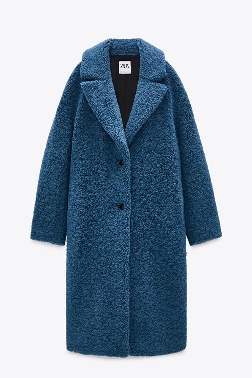 Este abrigo consigue elevar cualquier look. Foto: cortesía de Zara.