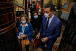 Pedro Sánchez y Pablo Iglesias intervendrán para responder a Vox en la moción de censura