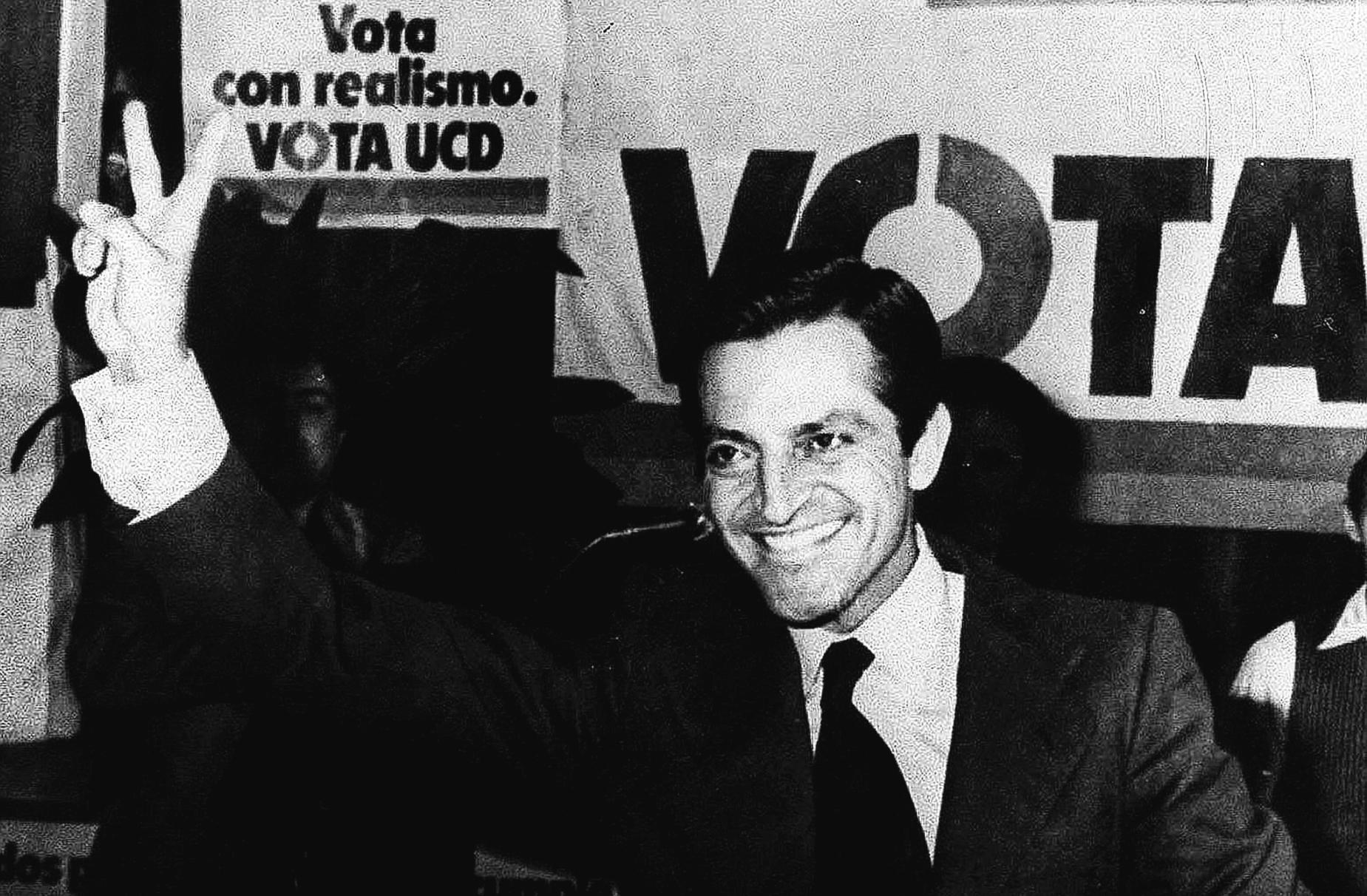 Adolfo Suárez, en la campaña de 1979.