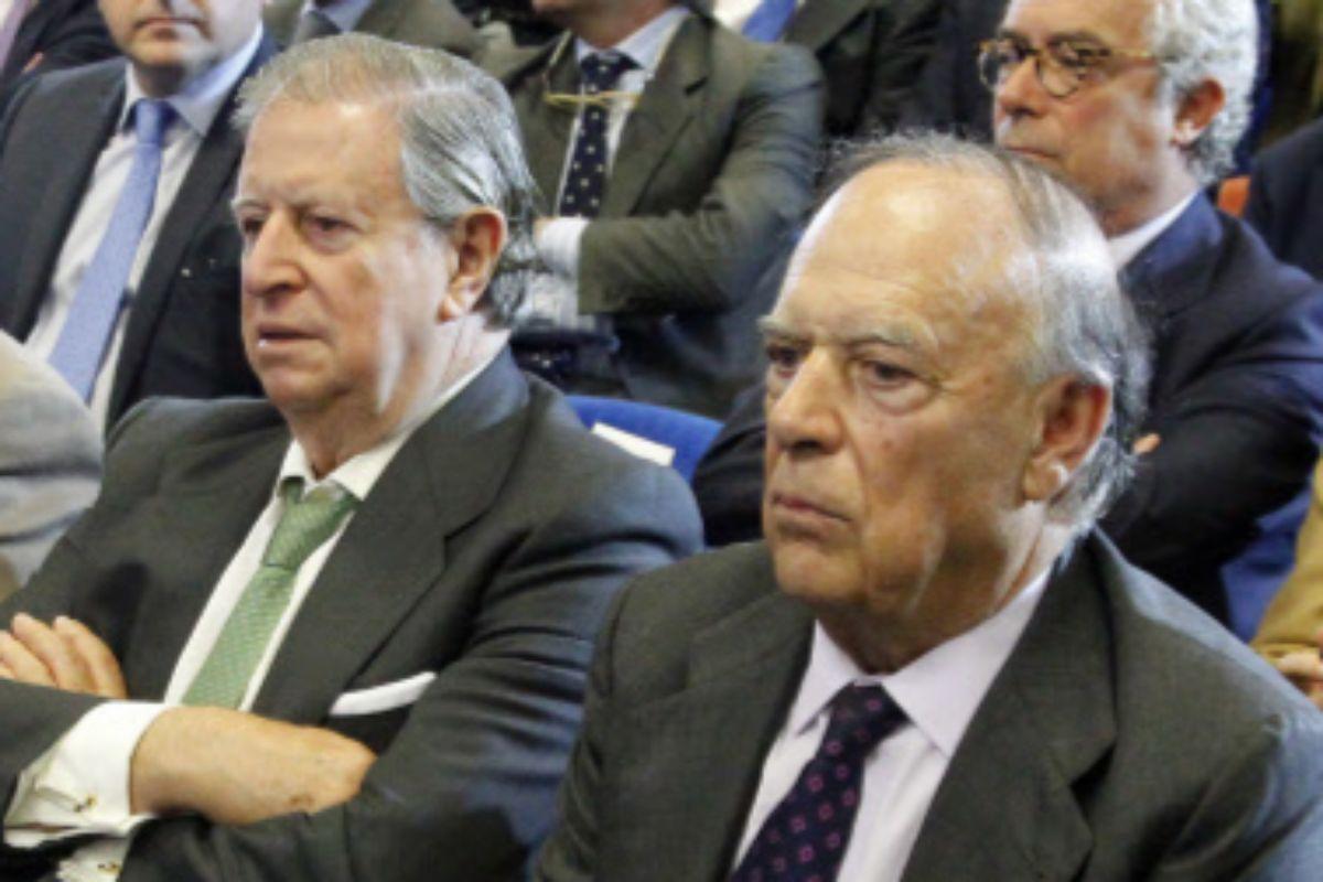 Fernando Falcó (izq.) y su hermano Carlos, en una imagen de 2013.