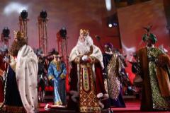 Los Reyes Magos, en su recepción en Madrid el pasado enero.