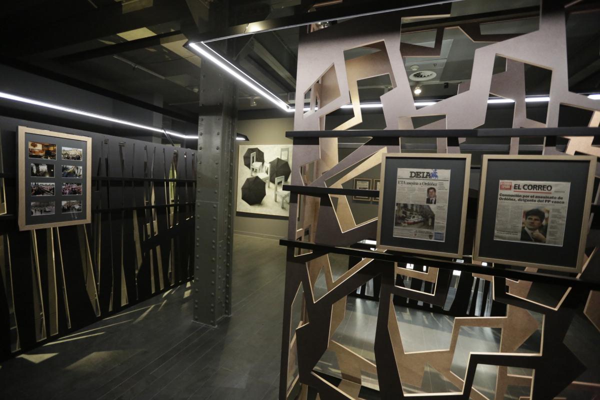 Una sala de la muestra 'Gregorio Ordóñez. La vida posible'