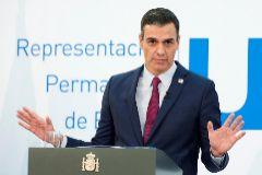 """BRUSELAS (BÉLGICA).- El presidente del Gobierno español, lt;HIT gt;Pedro lt;/HIT gt; lt;HIT gt;Sánchez lt;/HIT gt;, da una rueda de prensa en el ámbito de la segunda jornada de la cumbre de los jefes de Estado y Gobierno de la Unión Europea, este viernes, en Bruselas (Bélgica). lt;HIT gt;Sánchez lt;/HIT gt; ha propuesto al PP sentarse a negociar ya mismo para lograr un acuerdo sobre la renovación del Consejo General del Poder Judicial, porque el Ejecutivo está dispuesto a hacerlo para """"desatascar esta situación""""."""