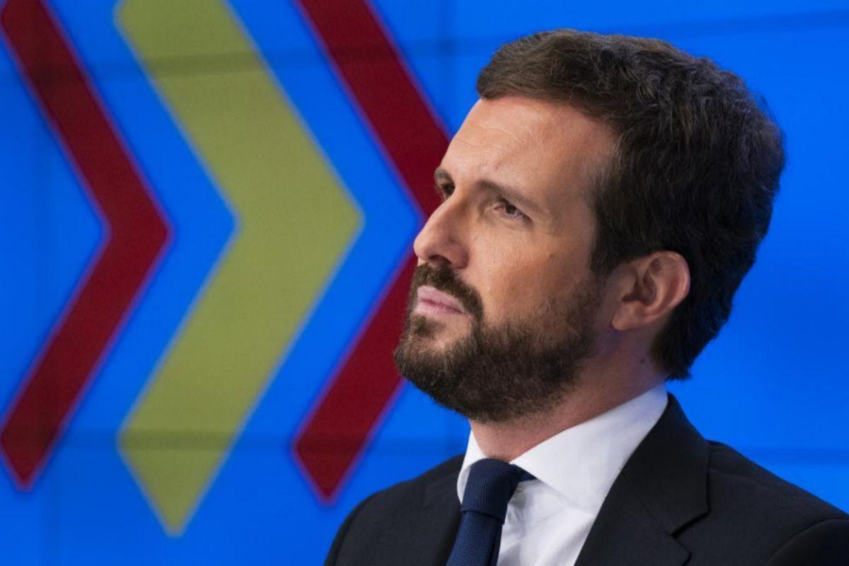 Pablo Casado, en el Comité de Dirección del PP.