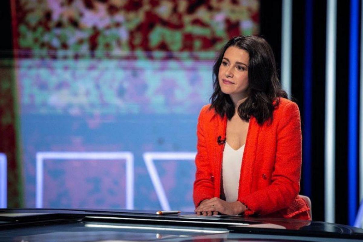 Inés Arrimadas, en una entrevista en televisión.