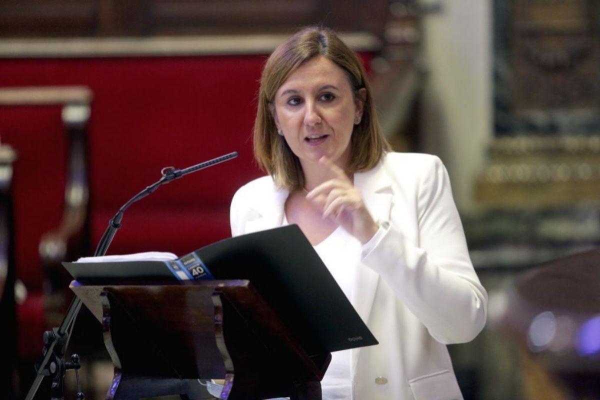 La portavoz del PP, María José Catalá.
