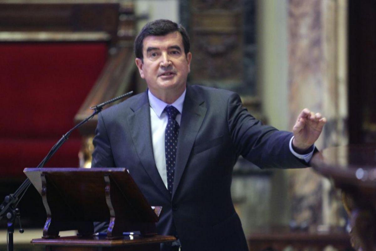 El portavoz de Cs, Fernando Giner.