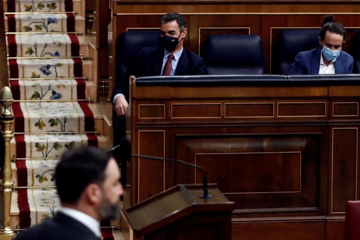 Moción de censura de Vox en directo | Unidas Podemos, el primer grupo en intervenir este jueves