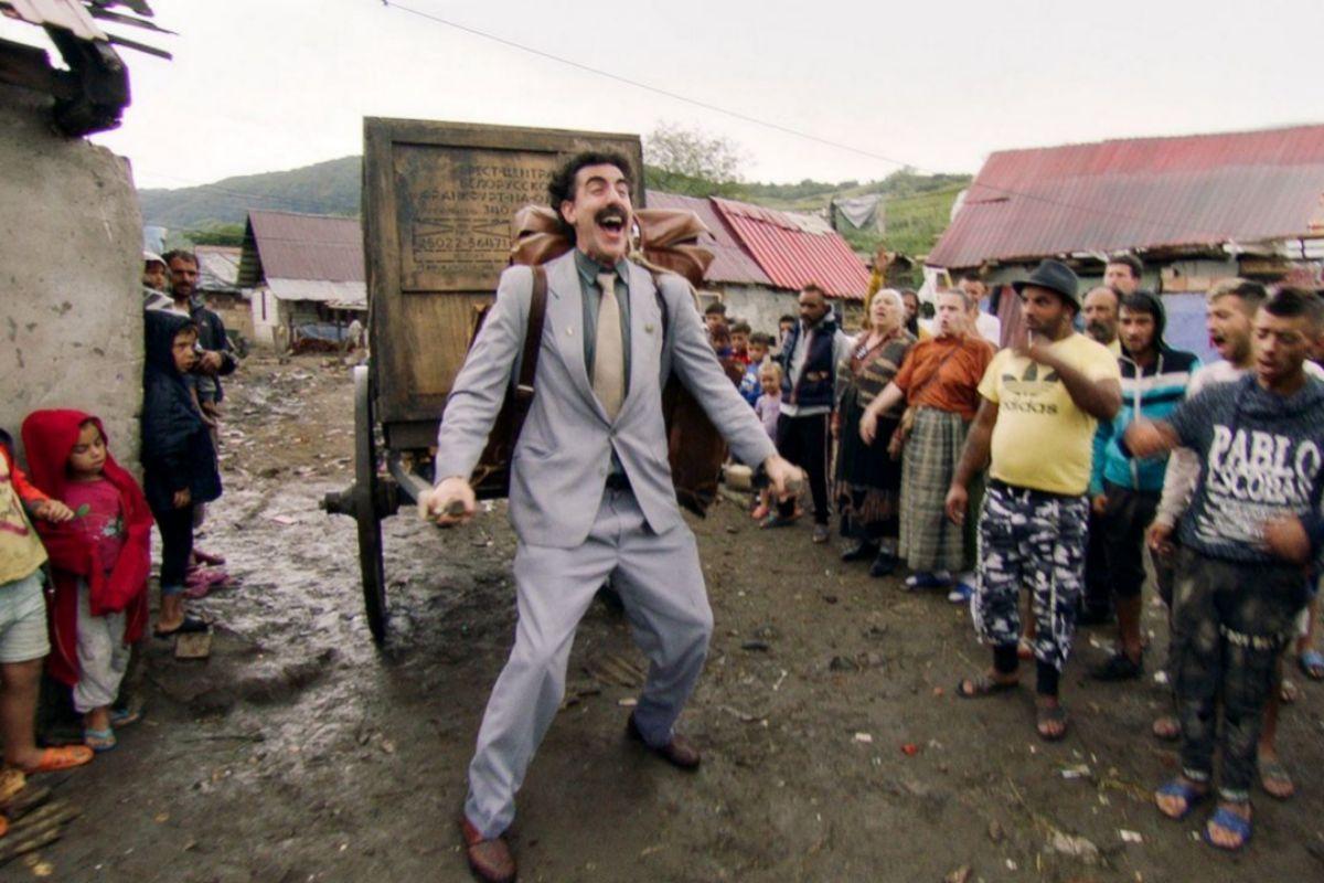 Una imagen de la nueva película de Borat.
