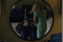 Imagen de la escena de 'Borat: Subsequent Moviefilm'.
