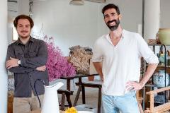 Joan Álvarez (izquierda) y Maurici Badía, directivos de Hannun