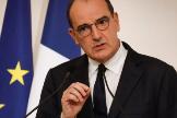 El primer ministro francés, Jean Castex, en Matignon.
