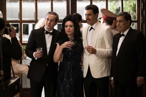 'El espía', con Sacha Baron Cohen en uno de sus mejores papeles.