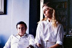 Marta Chávarri y Fernando Falcó, marqués de Cubas,  poco después de su boda