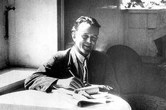 John Reed, en Moscú, poco antes de morir, en 1920.