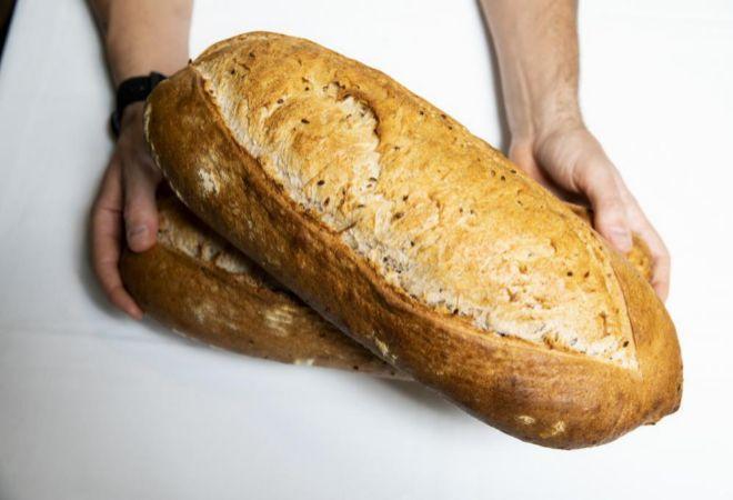 Hogaza de pan de Noi.