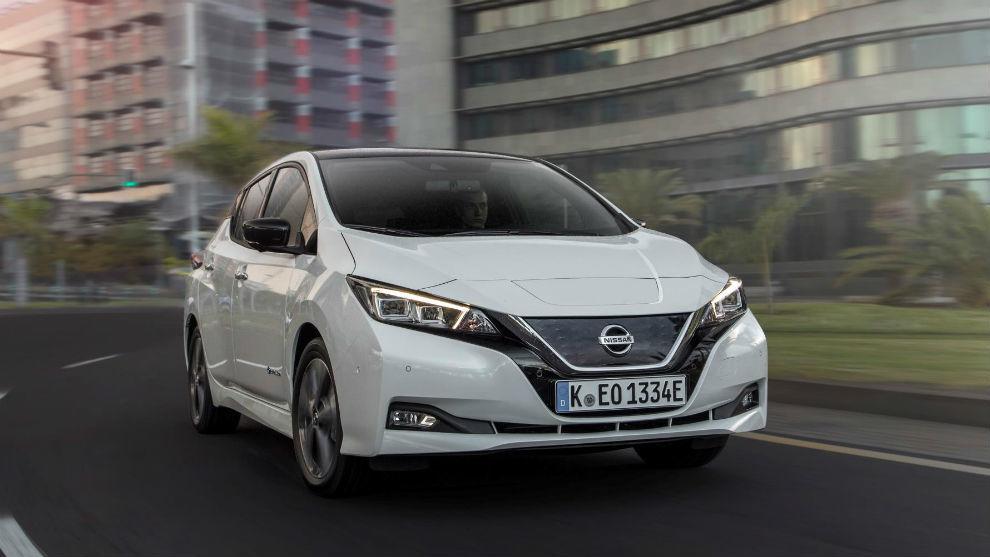 El Nissan Leaf, uno de los eléctricos más vendidos en el mundo.