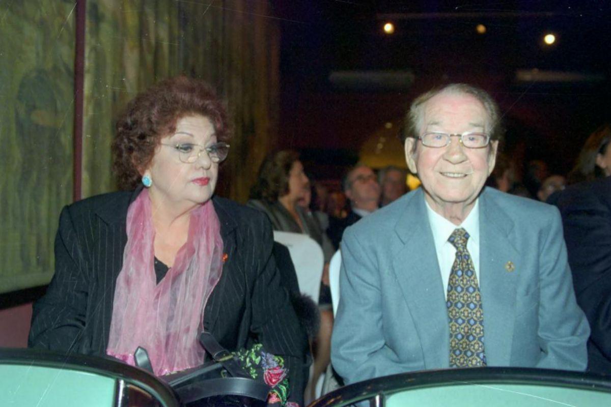 El matrimonio, en 2003.