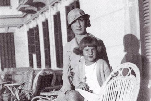 Rosario Silva y su hija, Cayetana.