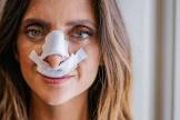 La impactante foto de Macarena Gómez tras agrandarse la nariz
