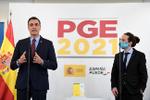 Sánchez anuncia con Iglesias 25 subidas de gasto sin pronunciar ni la palabra empleo ni deuda
