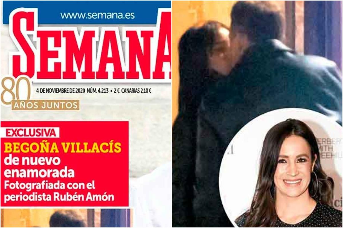 Beso robado: Begoña Villacís, de nuevo enamorada