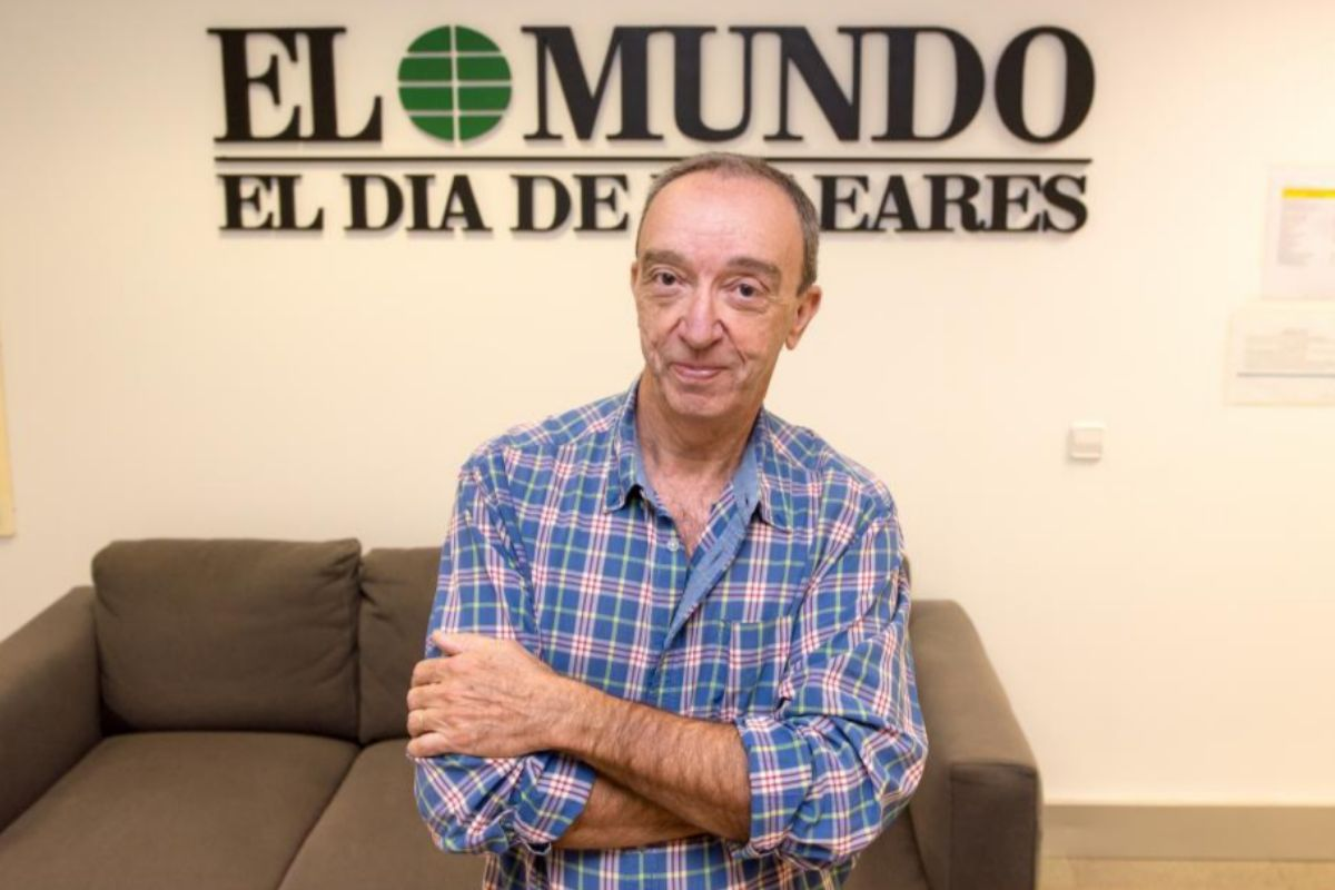 Pep Vicens se jubila tras 40 años como jefe de Fotografía de EL MUNDO/El Día de Baleares