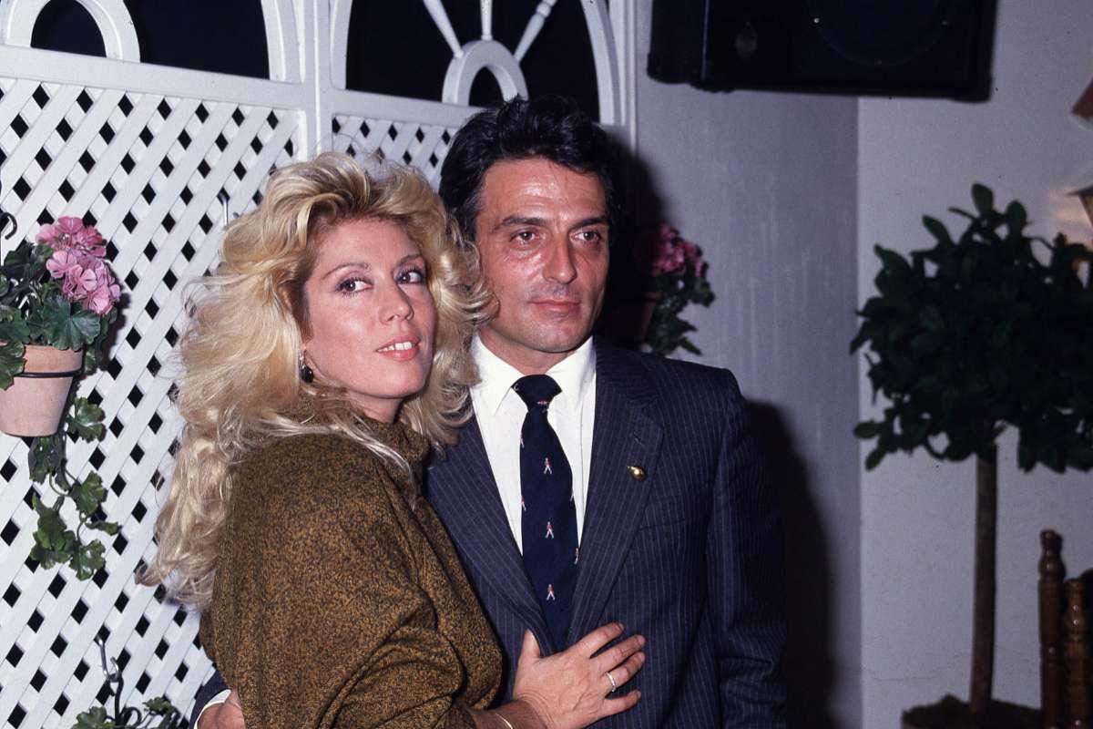 La cantante y su entonces pareja, Pepe Sancho, en la década de los 80.